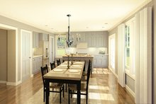 Colonial Interior - Kitchen Plan #1010-182
