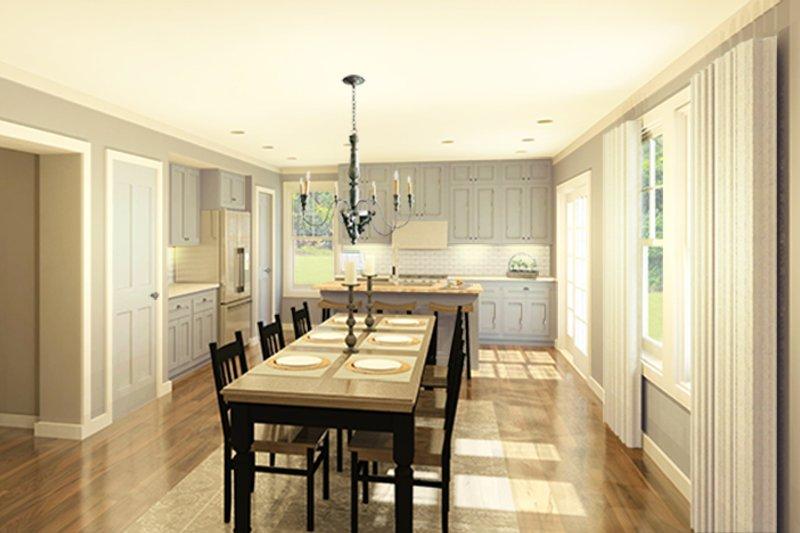 Colonial Interior - Kitchen Plan #1010-182 - Houseplans.com