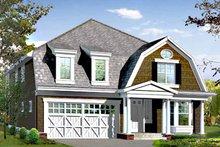 Dream House Plan - Craftsman Exterior - Front Elevation Plan #132-420