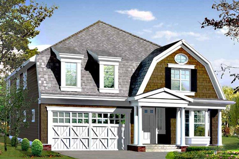 Craftsman Exterior - Front Elevation Plan #132-420 - Houseplans.com