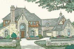Dream House Plan - European Exterior - Front Elevation Plan #310-1187