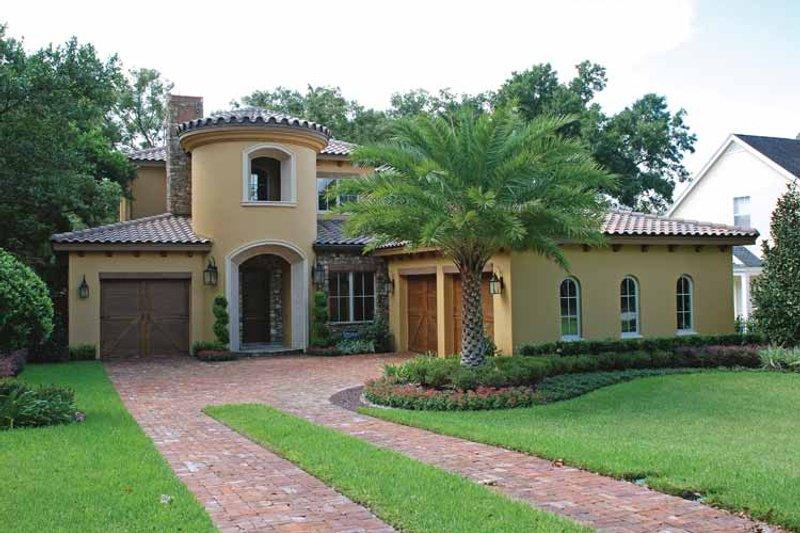 House Plan Design - Mediterranean Exterior - Front Elevation Plan #1019-2