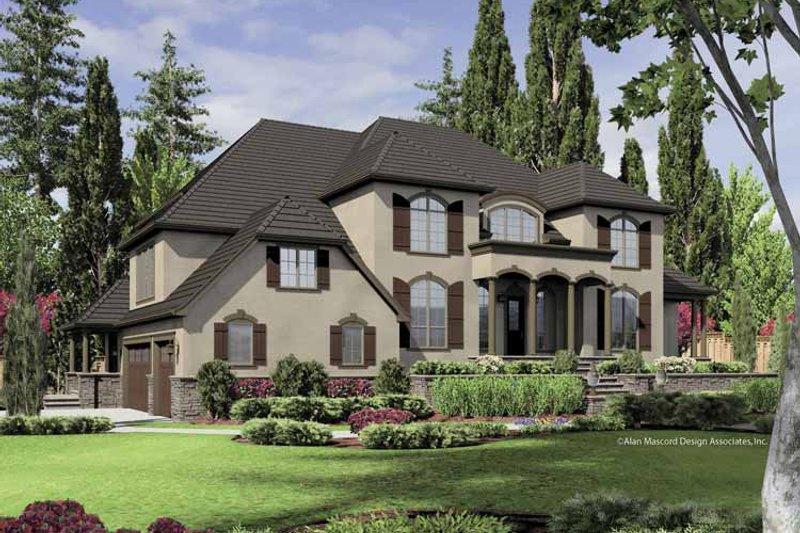 House Plan Design - European Exterior - Front Elevation Plan #48-851