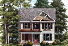 Country Exterior - Front Elevation Plan #927-728