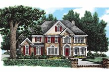 Architectural House Design - Colonial Exterior - Front Elevation Plan #927-76