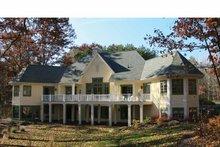 Architectural House Design - European Exterior - Rear Elevation Plan #928-190