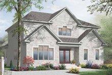 Dream House Plan - European Exterior - Front Elevation Plan #23-2373