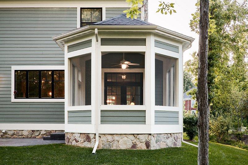 Traditional Exterior - Rear Elevation Plan #928-299 - Houseplans.com