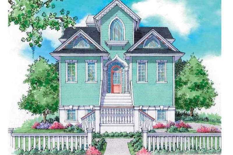 Craftsman Exterior - Front Elevation Plan #930-151 - Houseplans.com
