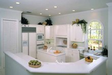 Mediterranean Interior - Kitchen Plan #930-24