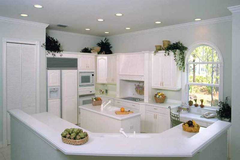 Mediterranean Interior - Kitchen Plan #930-24 - Houseplans.com