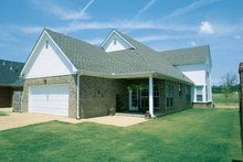 House Plan Design - Classical Exterior - Rear Elevation Plan #17-2665