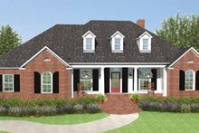 Country Exterior - Front Elevation Plan #406-9629