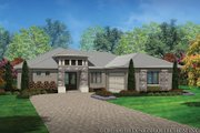 Contemporary Style House Plan - 3 Beds 2 Baths 1808 Sq/Ft Plan #930-451