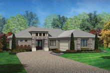 House Plan Design - Contemporary Exterior - Front Elevation Plan #930-451
