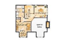 Cabin Floor Plan - Upper Floor Plan Plan #942-25