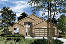 Contemporary Exterior - Front Elevation Plan #1015-31