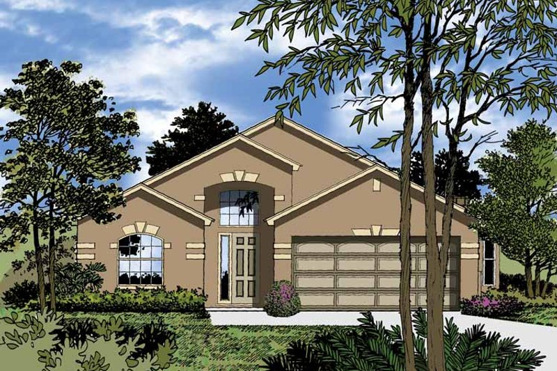 Dream House Plan - Contemporary Exterior - Front Elevation Plan #1015-31
