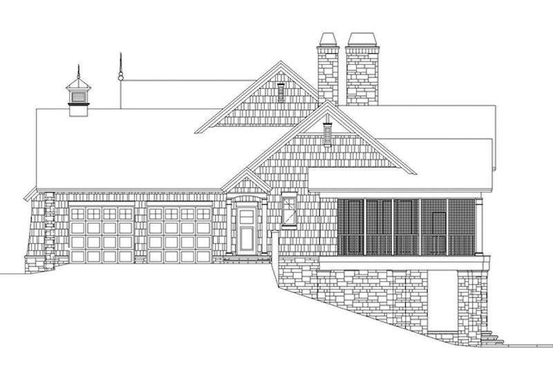 European Exterior - Other Elevation Plan #929-878 - Houseplans.com