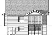 Traditional Exterior - Rear Elevation Plan #70-682