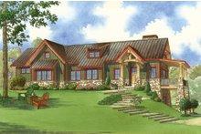 Dream House Plan - Craftsman Exterior - Front Elevation Plan #923-23