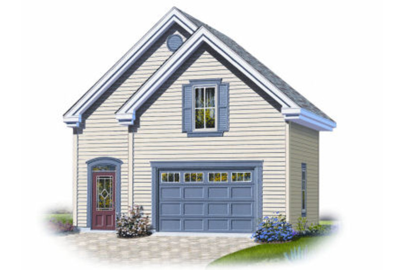 Country Exterior - Front Elevation Plan #23-2276