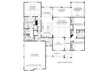 Farmhouse Floor Plan - Main Floor Plan Plan #927-989