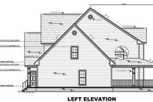 Home Plan - Left Elevation - Plan 21-269