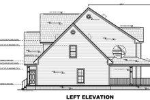 Left Elevation - Plan 21-269