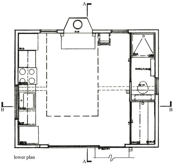 Cottage Floor Plan - Main Floor Plan Plan #511-1