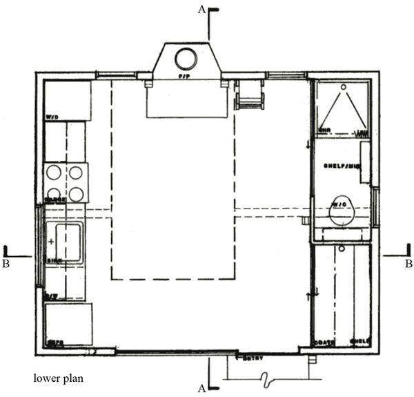 Cottage Floor Plan - Main Floor Plan Plan #511-1