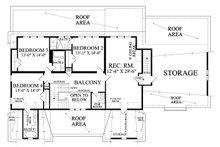 Country Floor Plan - Upper Floor Plan Plan #137-280
