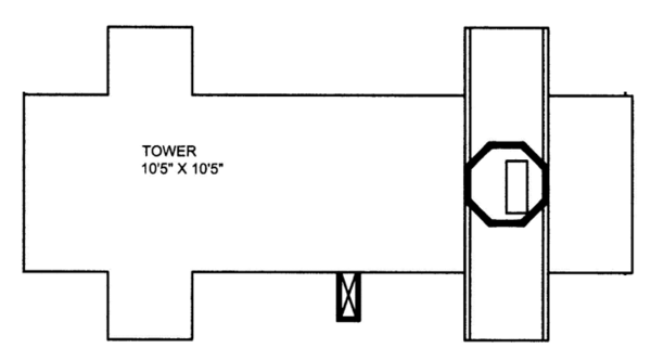 Colonial Floor Plan - Other Floor Plan Plan #117-845