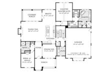 European Floor Plan - Main Floor Plan Plan #927-974