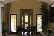 Mediterranean Interior - Family Room Plan #937-17
