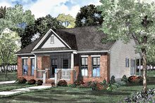 Craftsman Exterior - Front Elevation Plan #17-3085