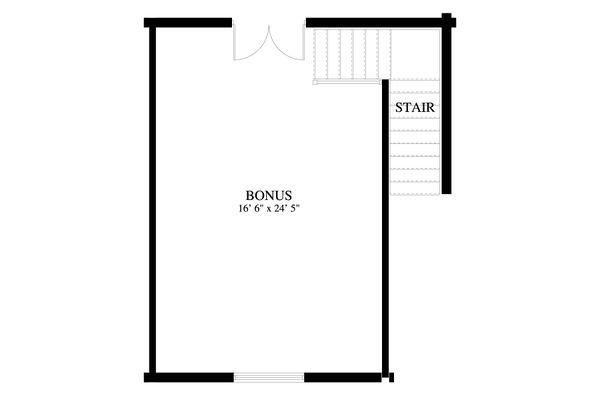 Dream House Plan - Traditional Floor Plan - Upper Floor Plan #1060-89