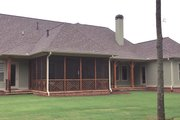 Craftsman Style House Plan - 3 Beds 3.5 Baths 2718 Sq/Ft Plan #437-74 Exterior - Rear Elevation