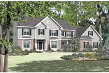 House Design - Colonial Exterior - Front Elevation Plan #328-449
