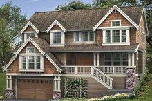 House Design - Craftsman Exterior - Front Elevation Plan #132-400
