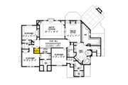 Traditional Style House Plan - 5 Beds 5 Baths 5264 Sq/Ft Plan #54-413 Floor Plan - Upper Floor
