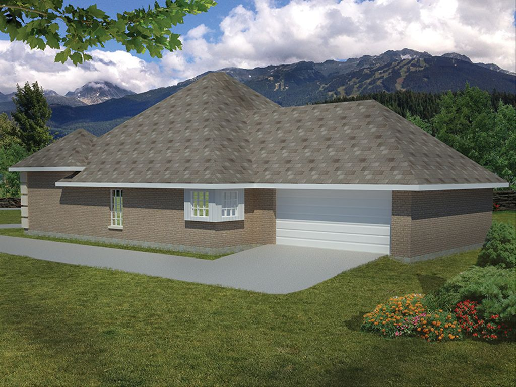 Mediterranean style house plan 3 beds 2 baths 1733 sq ft for Homplans