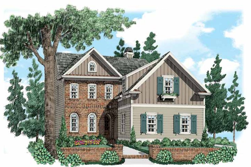 Home Plan - Traditional Exterior - Front Elevation Plan #927-534