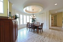 Dream House Plan - European Interior - Dining Room Plan #928-267