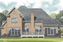 Architectural House Design - Traditional Exterior - Rear Elevation Plan #453-526
