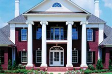 Dream House Plan - Classical Exterior - Front Elevation Plan #45-413