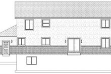 Traditional Exterior - Rear Elevation Plan #1060-17