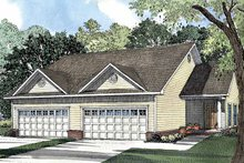 Home Plan - Ranch Exterior - Front Elevation Plan #17-3051