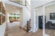 Contemporary Style House Plan - 4 Beds 2.5 Baths 3384 Sq/Ft Plan #1066-121 Interior - Entry