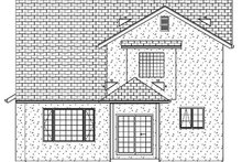 Farmhouse Exterior - Rear Elevation Plan #126-213